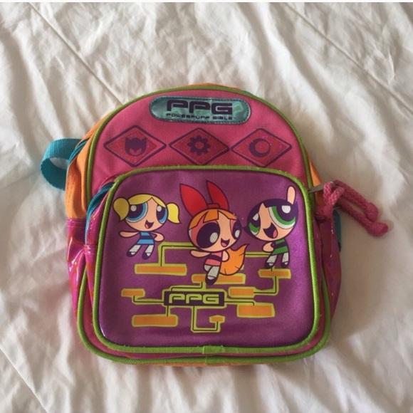 57fcbe02b Cartoon Network Handbags - Vintage The Powerpuff Girls Backpack